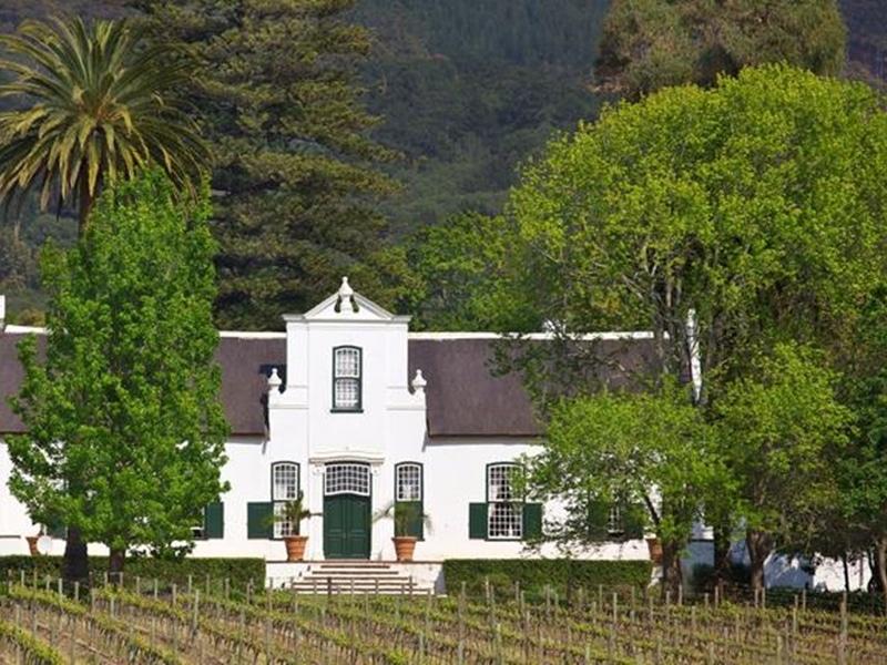 Cape Winelands Farm in Stellenbosch Südafrika