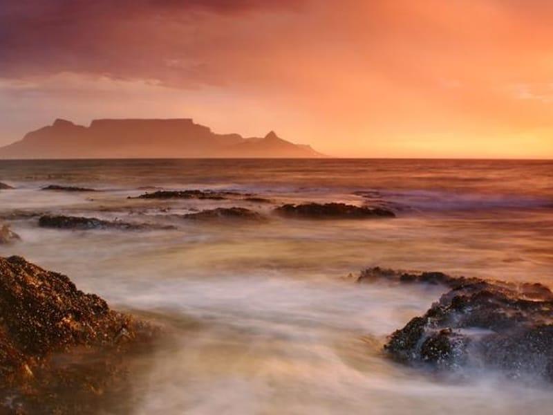 Cape Town Kapstadt Blick auf den Tafelberg