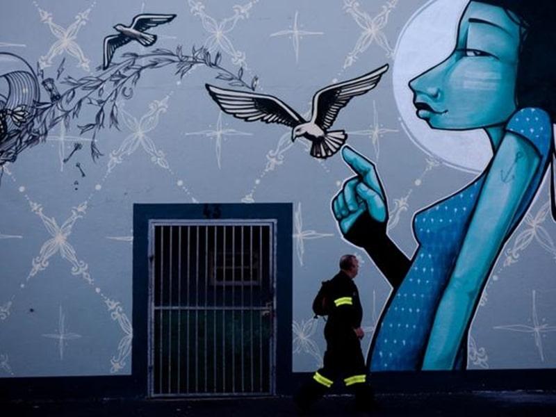 Street Art Cape Town Graffitti in Kapstadt