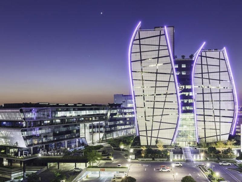 Johannesburg Stadt Skyline