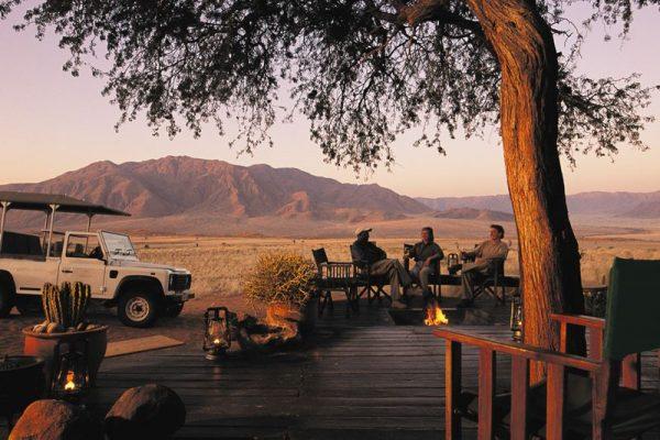 Beste Reisezeit Namibia in der Unterkunft in einer Lodge in Namibia