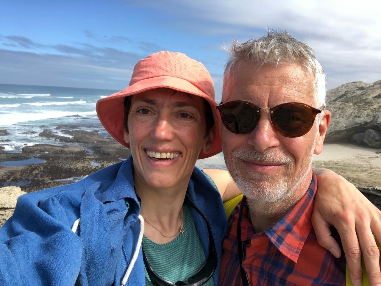 Ursula Fischer und der Osteopath Normen Wolke