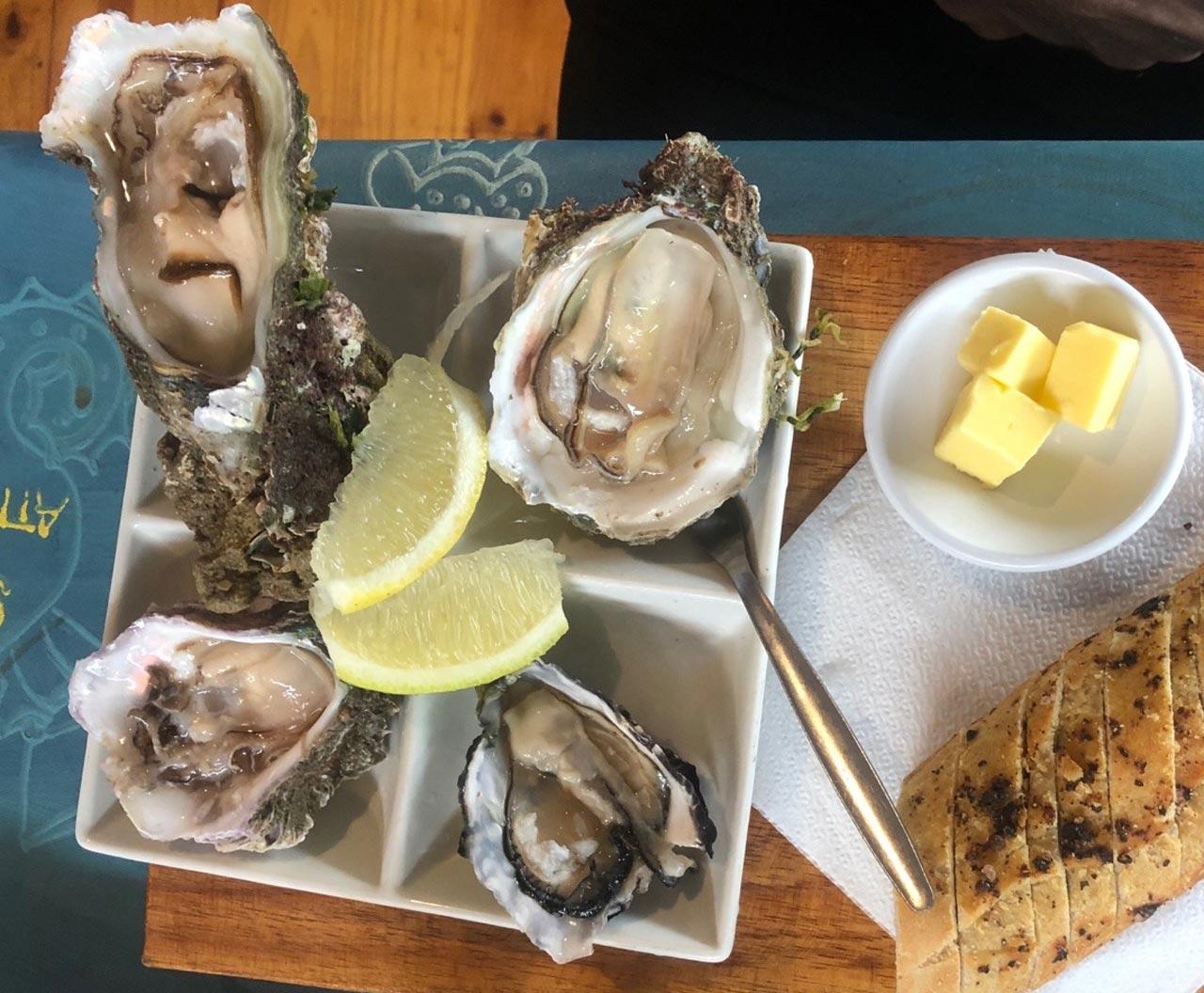 Knysna Austern sind Qualitätsaustern
