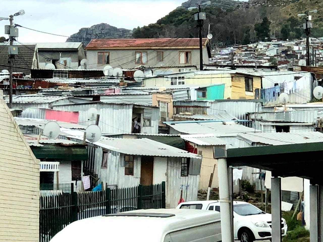 Townshion in Kapstadt mit hoher Kriminalität