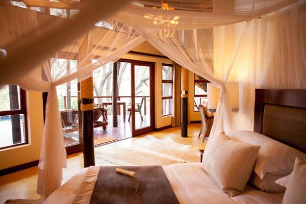 Zimmer in der Amakhose Lodge