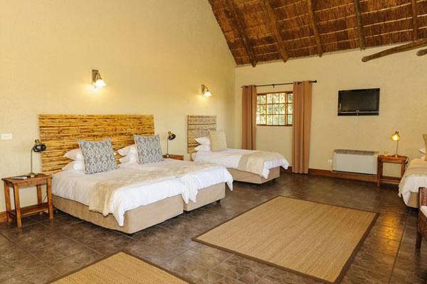 Zimmer im Safari Club eine Lodge in Johannesburg