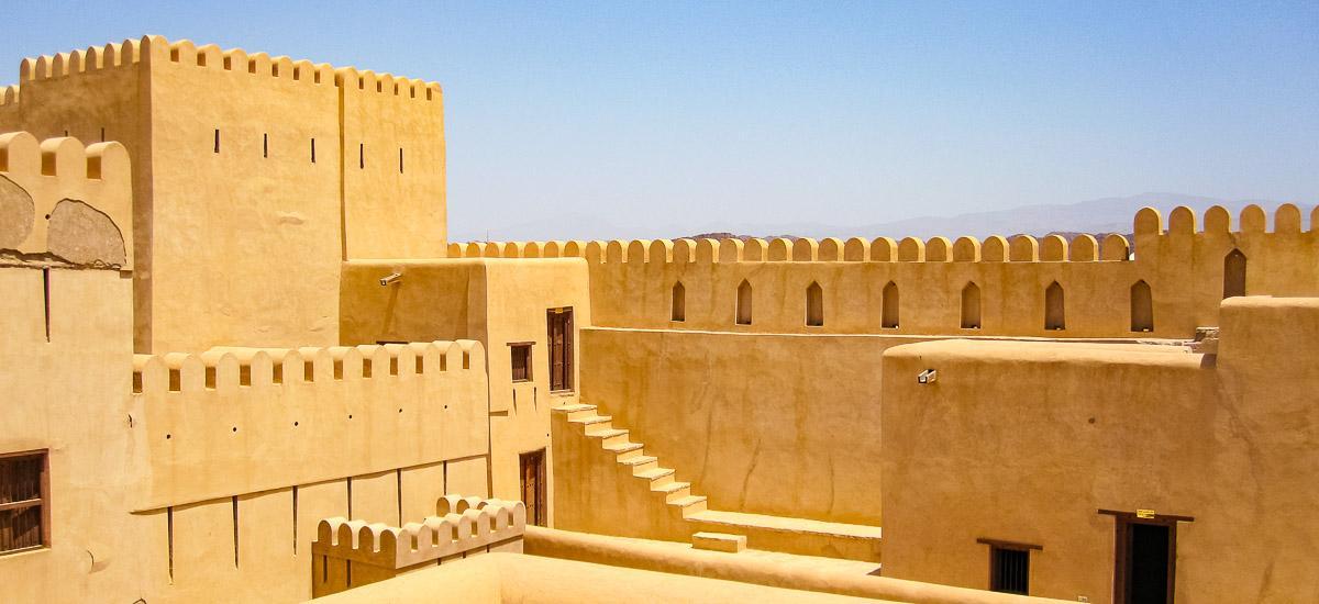 Oman Hadschar Festung Nizwa