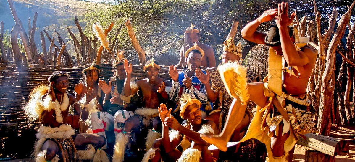 Suedafrika-Addo Swasi Tanz